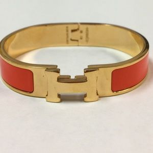 Hermès H Click bangle bracelet